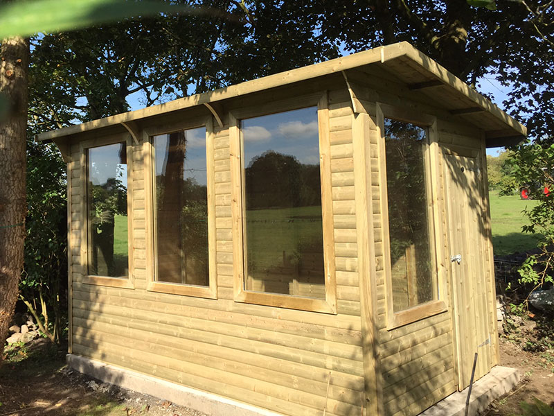 Garden studio empress fencing clitheroe lancashire for Garden studio uk