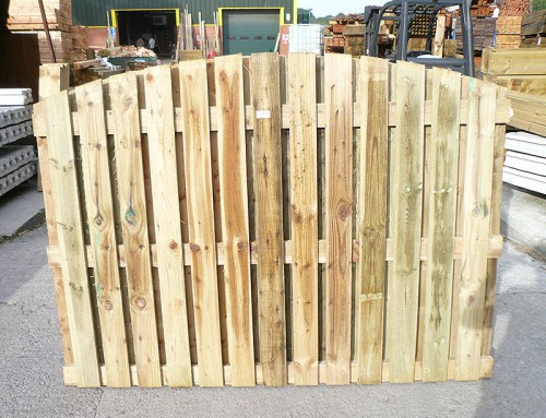 Double-sided Feather Edge Panel - Empress Fencing