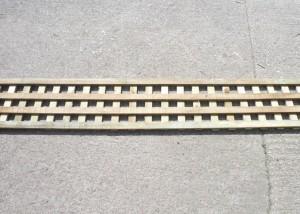 2 inch square trellis