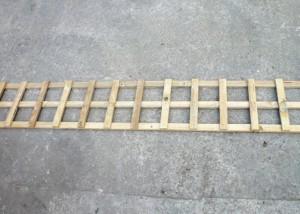 4 inch square trellis