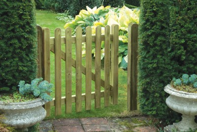 Premium picket gate at Empress Fencing in Clitheroe